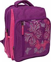 Рюкзак школьный Bagland Школьник 8 л. Фиолетовый/розовый (00112702)