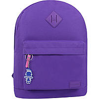 Рюкзак городской девушке молодежный W/R 17 л. фиолетовый женский рюкзачок