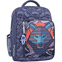 Рюкзак школьный Bagland Школьник 8 л. 321 серый 509 (0012870), фото 1