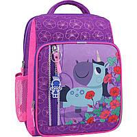 Рюкзак школьный Bagland Школьник 8 л. фиолетовый 498 (0012870), фото 1