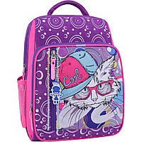 Рюкзак школьный Bagland Школьник 8 л. фиолетовый 501 (0012870), фото 1