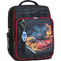 Рюкзак школьный Bagland Школьник 8 л. Черный (машина 23) (00112702), фото 1