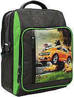 Рюкзак школьный Bagland Школьник 8 л. 327 хакі 4 м (00112702), фото 1
