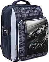 Рюкзак школьный Bagland Школьник 8 л. 321 сірий 75 м (00112702), фото 1