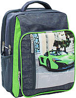 Рюкзак школьный Bagland Школьник 8 л. 321 сiрий 20 м (00112702), фото 1