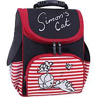 Рюкзак школьный каркасный Bagland Успех 12 л. Черный 374 (00551702), фото 1