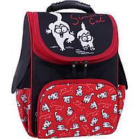 Рюкзак школьный каркасный Bagland Успех 12 л. Черный 372 (00551702), фото 1