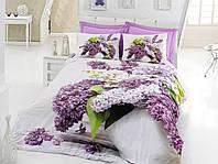 Постельное белье Cotton box Ранфорс Floral Seri 3D VILMA LILA, фото 1