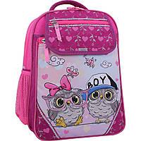 Рюкзак школьный Bagland Отличник 20 л. 143 малина 515 (0058070), фото 1