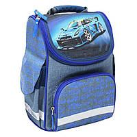 Рюкзак школьный каркасный Bagland Успех 12 л. Синий (56м) (00551692), фото 1