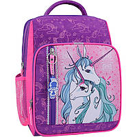 Рюкзак школьный Bagland Школьник 8 л. Фиолетовый 596 (00112702), фото 1
