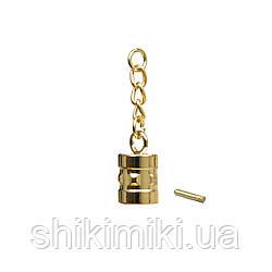 Тримач DR09-3 (19 мм), колір золото