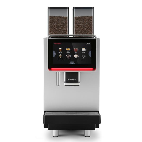 Кофемашина автоматическая профессиональная для дома, офиса и кафе Dr. Coffee F2 H