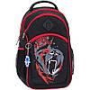 Рюкзак Bagland Лик 21 л. Чёрный/красный (0055770)