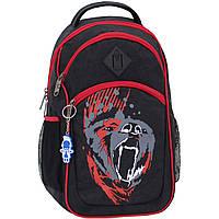 Рюкзак Bagland Лик 21 л. Чёрный/красный (0055770), фото 1