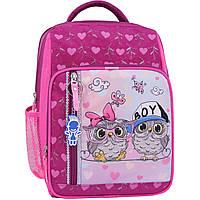 Рюкзак школьный Bagland Школьник 8 л. 143 малина 515 (00112702), фото 1