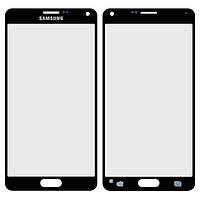 Защитное стекло корпуса для Samsung Galaxy Note 4 N910H, черный, оригинал
