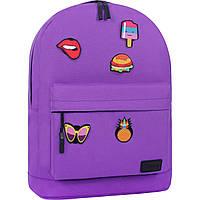 Рюкзак Bagland Молодежный W/R 17 л. 170 Фиолетовый (00533662 Ш), фото 1