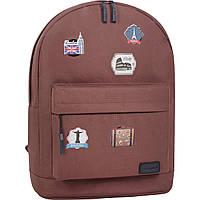 Рюкзак Bagland Молодежный W/R 17 л. 299 коричневый (00533662 Ш), фото 1