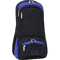 Рюкзак для ноутбука Bagland Granite 23 л. Черный/электрик (0012066), фото 1