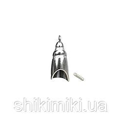 Держатель DR08-1 (14 мм), цвет никель
