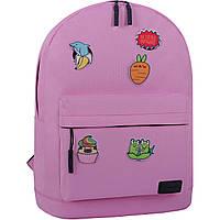 Рюкзак Bagland Молодежный W/R 17 л. 140 розовый (00533662 Ш), фото 1