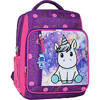 Рюкзак школьный Bagland Школьник 8 л. 339 фiолетовий 428 (00112702), фото 1