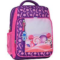 Рюкзак школьный Bagland Школьник 8 л. 339 фiолетовий 409 (00112702), фото 1