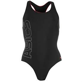 Женский купальник для плавания Asics Paola черный