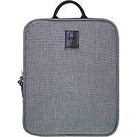 Рюкзак Bagland под планшет 2 л. 321 серый (0050969), фото 1