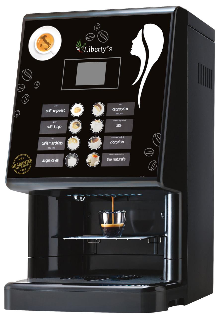Кофемашина автоматическая профессиональная для офиса и кафе LIBERTY`S Phedra EVO Espresso 10000021