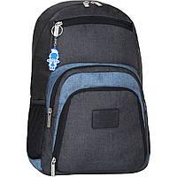 Рюкзак для ноутбука Bagland Freestyle 21 л. черный/серый (0011969), фото 1