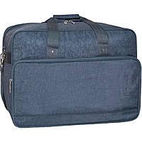Дорожная сумка Bagland Рига 36 л. 321 серый (0030370), фото 1