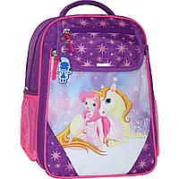 Рюкзак школьный Bagland Отличник 20 л. 339 фиолетовый 387 (0058070), фото 1