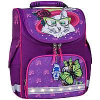Рюкзак школьный каркасный с фонариками Bagland Успех 12 л. фиолетовый 168к (00551703), фото 1