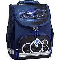 Рюкзак школьный каркасный с фонариками Bagland Успех 12 л. синий 248к (00551703), фото 1