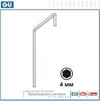 Ключ для регулировки фурнитуры (шестигранный 4 мм)