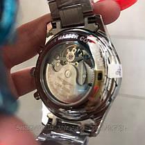 Часы мужские наручные механика с автоподзаводом  Longines Master Collection Moonphases Реплика ААА класса, фото 3