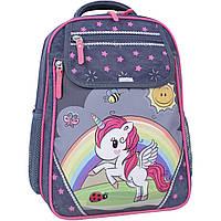 Рюкзак школьный Bagland Отличник 20 л. 321 серый 680 (0058070), фото 1