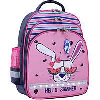 Рюкзак школьный Bagland Mouse 321 серый 204к (00513702)