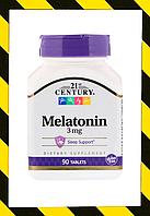 21st Century, Мелатонин, 3 мг, 90 таблеток