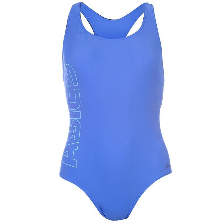 Купальник для плавания женский Asics Paola голубой