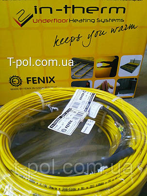 Двужильный экранированный нагревательный кабель adsv20 In-therm 640 вт, 32 м, фото 2