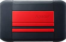 "HDD ext 2.5"" USB 1TB Apacer AC633 Black/Red (AP1TBAC633R-1)"