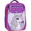 Рюкзак школьный 20 л.Stars purple unicorn 678