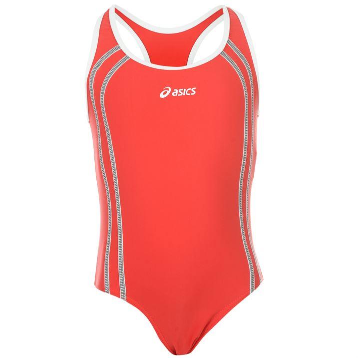 Купальник для плавания подросток Asics Annette красный