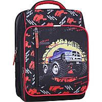 Рюкзак школьный 8 л.  Stars 660 черный джип, фото 1
