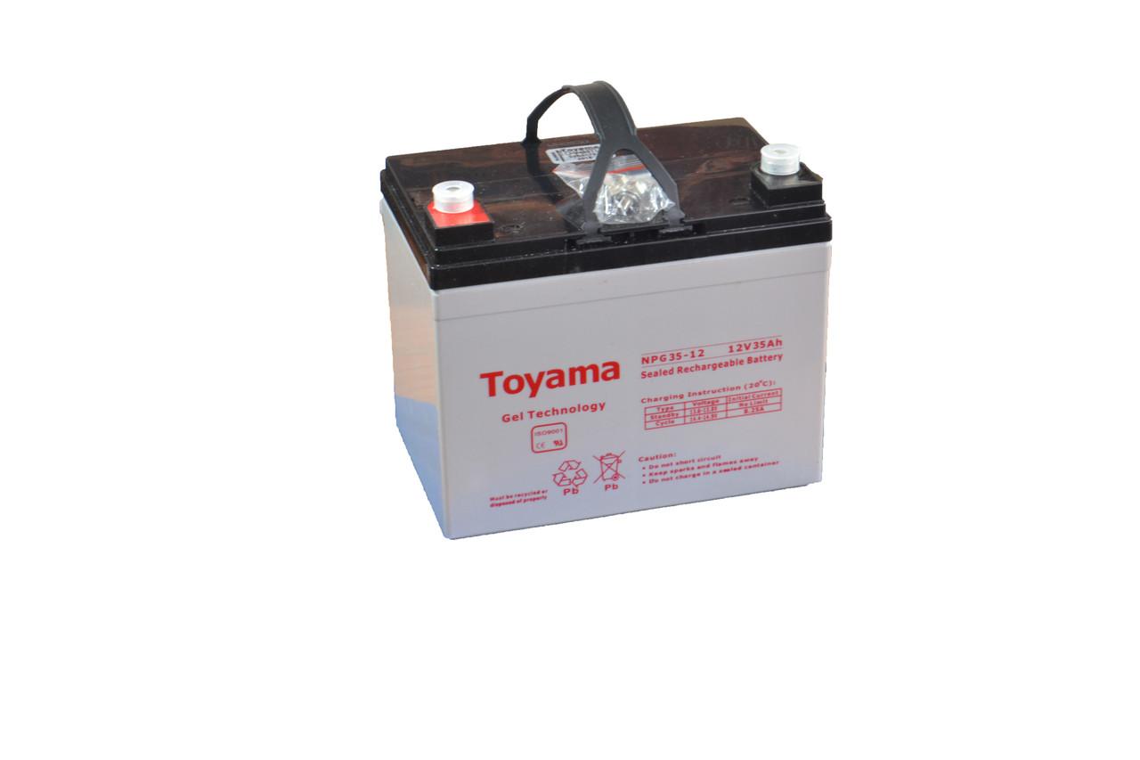Гелевая аккумуляторная батарея Toyama 12V 35Ah, фото 1
