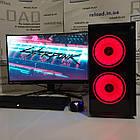 Игровой системный блок core i3 10100f+gtx 1060 3гб+ddr4 8gb, фото 2