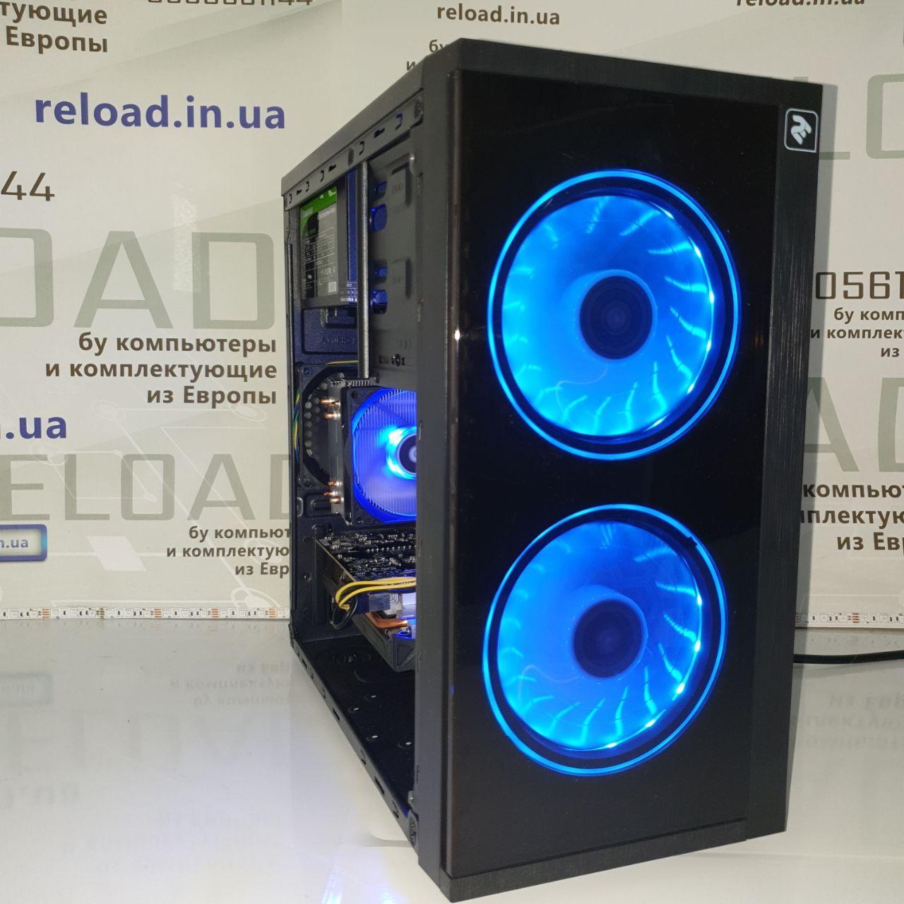 Игровой системный блок core i3 10100f+gtx 1060 3гб+ddr4 8gb